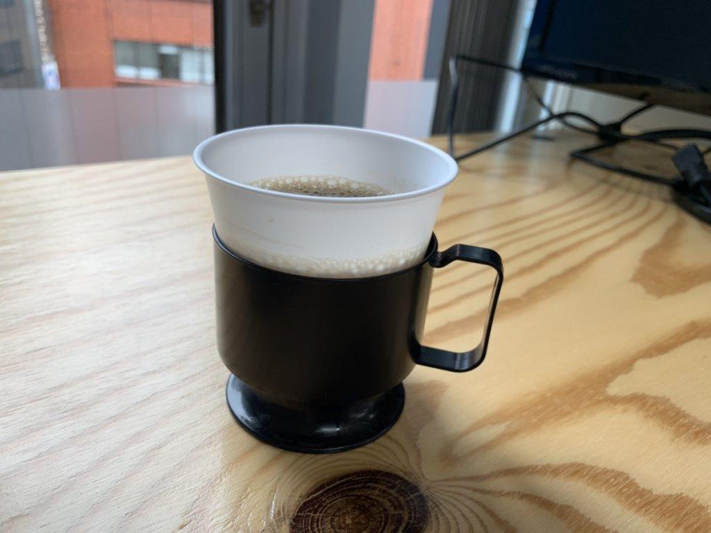 東京コワーキングスペースのコーヒー
