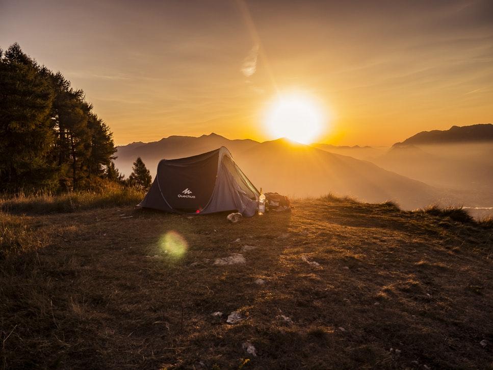 佐賀県のおすすめグランピング&キャンプ施設③眉山キャンプ場