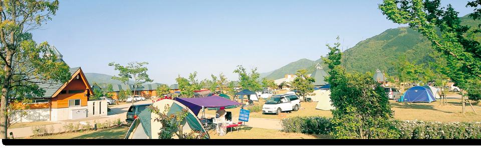 徳島のおすすめグランピング&キャンプ施設④四国三郎の郷