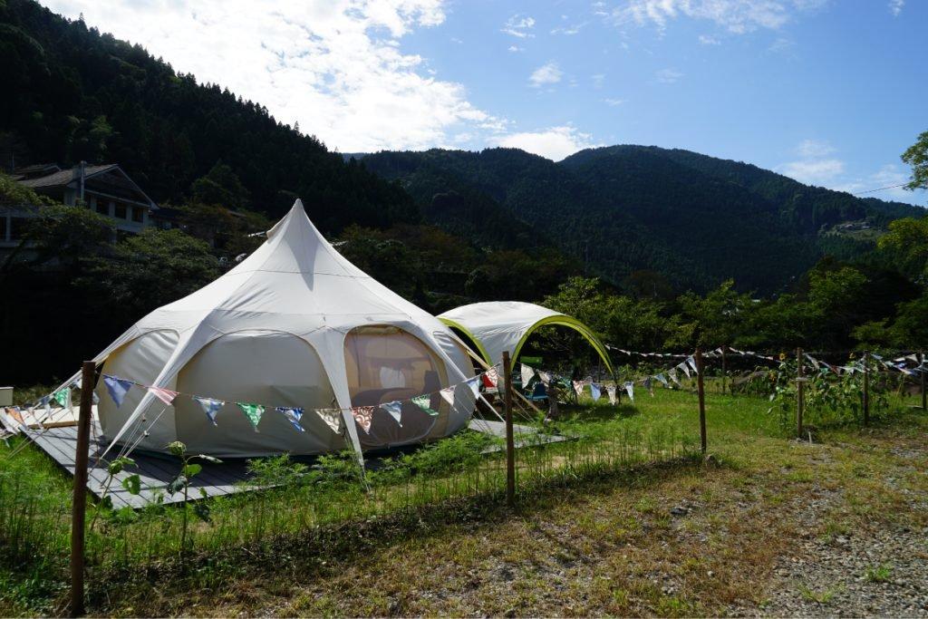 徳島のおすすめグランピング&キャンプ施設①パンゲアフィールド