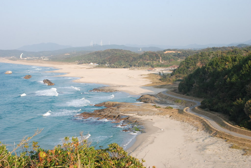 島根のおすすめグランピング&キャンプ施設④島根県立石見海浜公園