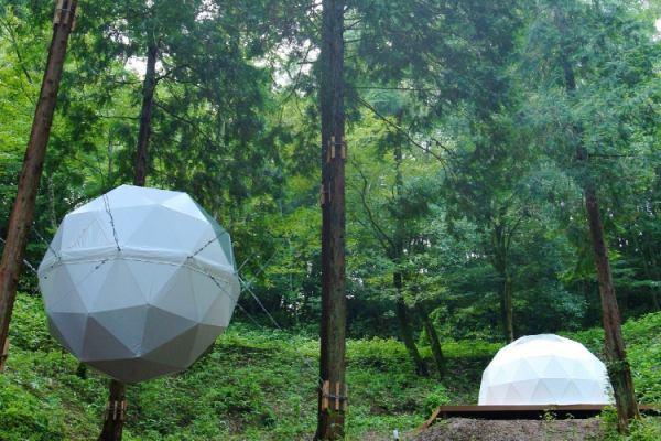 島根のおすすめグランピング&キャンプ施設②温泉リゾート 風の国